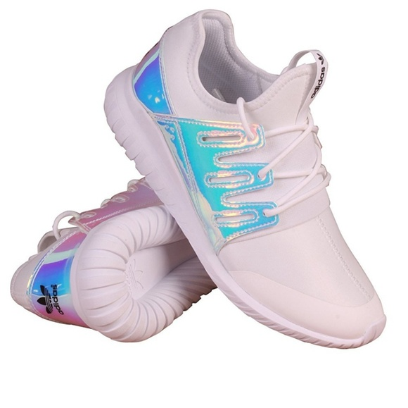 75282b6352e9 adidas Shoes - Adidas holographic tubular radial sneakers